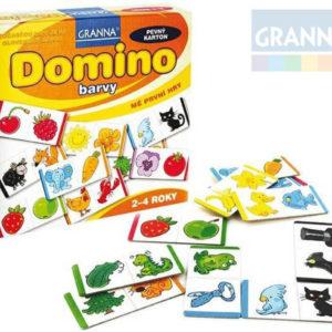 GRANNA Hra Mé první hry - Domino barvy *SPOLEČENSKÉ HRY*