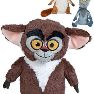 PLYŠ Zvířátko Madagaskar 25cm postavička plyšová 3 druhy *PLYŠOVÉ HRAČKY*
