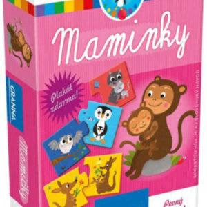 GRANNA Hra Maminky hledání dvojic zvířátko mládě a maminka