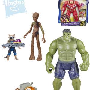 HASBRO Avengers figurka akční hrdinové 15cm set s doplňky plast 3 druhy