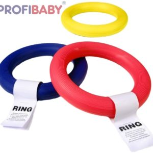 PROFIBABY Kruh gumový házecí 17 cm RING