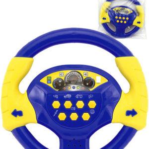 Baby volant žluto-modrý 20cm na baterie Světlo Zvuk CZ v sáčku