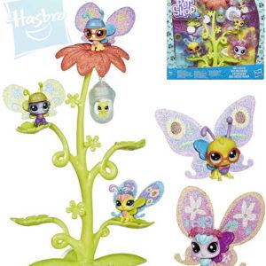 HASBRO LPS Liitlest Pet Shop Domeček květinový set s 6 motýlky