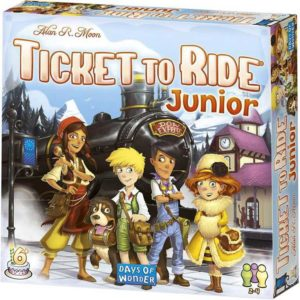 ADC HRA Ticket to Ride Junior *SPOLEČENSKÉ HRY*