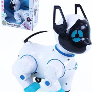 Robot kočka interaktivní tančící na baterie Světlo Zvuk plast