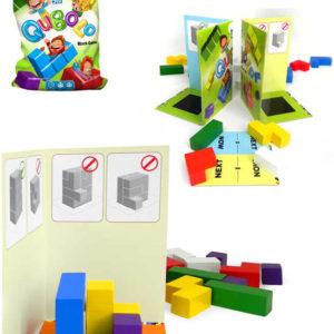 BONAPARTE DŘEVO Hra kostky dřevěné Qubolo 3D SPOLEČENSKÉ HRY