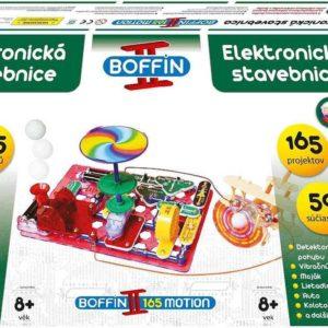 Boffin II. MOTION 165 projektů 50 součástek na baterie elektronická STAVEBNICE
