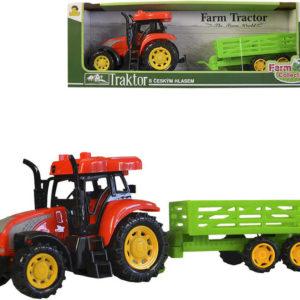 Traktor plastový farmářský set s přívěsem na baterie CZ Světlo Zvuk