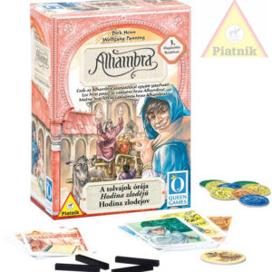 PIATNIK Hra Alhambra - Hodina zlodějů (3.rozšíření) *SPOLEČENSKÉ HRY*