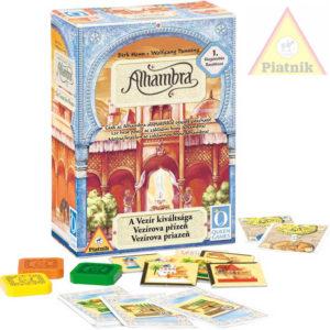 PIATNIK Hra Alhambra - Vezírova přízeň (1.rozšíření) *SPOLEČENSKÉ HRY*