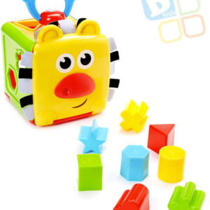 B-KIDS Baby kostka rozložitelná set s vkládacími trvary 8ks pro miminko