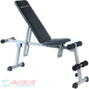 ACRA Fitness lavice víceúčelová posilovací sit-up-bench Brother KH666