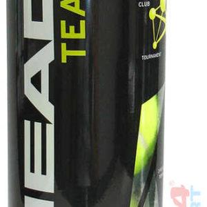 ACRA Míčky tenisové Head Team set 3 ks v plastové dóze
