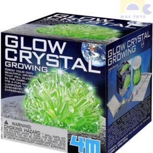 MAC TOYS Svítící krystaly experimentální set výroba krystalů malý geolog