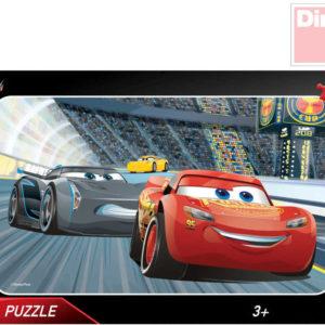 DINO Puzzle Auta 3 (Cars) 25x15cm 15 dílků v krabici