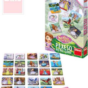 DINO Pexeso Sofia První Disney set 48 kartiček v krabici *SPOLEČENSKÉ HRY*