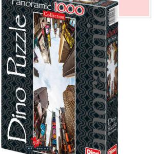 DINO Puzzle Broadway Avenue 1000 dílků 32x96cm panoramatické