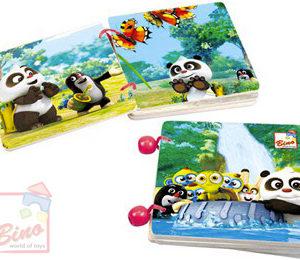BINO Baby knížka (Krteček) Krtek a Panda s příběhem pro miminko