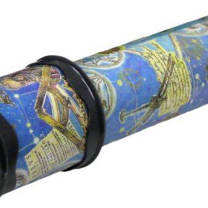 Krasohled dětský kaleidoskop horoskop noční obloha kukátko modré