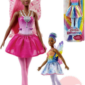 MATTEL BRB Panenka Barbie 30cm víla s křídly 4 druhy v krabičce
