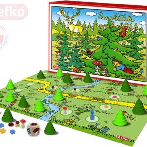EFKO Hra Smolíček Pacholíček retro edice dřevěné figurky *SPOLEČENSKÉ HRY*
