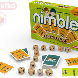 EFKO Hra Nimble pro děti Junior *SPOLEČENSKÉ HRY*