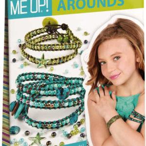 SMU Style Me Up korálková sada kreativní výroba náramků zelenomodrá