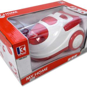 Vysavač dětský plastový 19cm s kuličkami na baterie Světlo v krabici