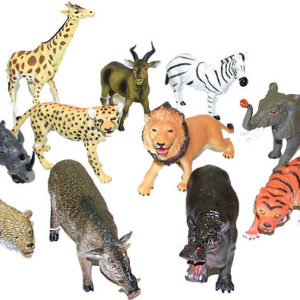 Zvířata divoká (Safari) figurka 23 - 31cm 11 druhů