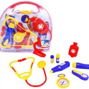 Kufřík doktorský menší sada lékařské potřeby pro děti plast