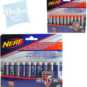 HASBRO NERF N-Strike Elite náhradní šipky do pistole set 10ks na kartě 2 druhy