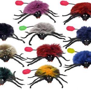 Pavouk 10cm skákací retro 10 barev
