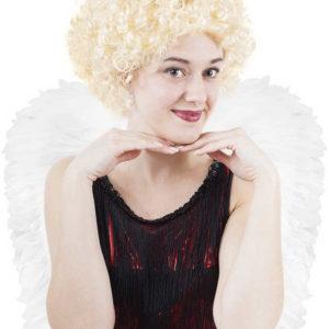 KARNEVAL Paruka Anděl krátká blond KARNEVALOVÝ DOPLNĚK