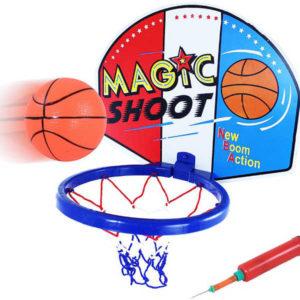 Basketbalový set koš s balonem a pumpičkou na košíkovou
