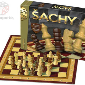 BONAPARTE Hra Šachy v krabici *DŘEVĚNÉ HRAČKY*
