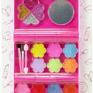 Isabella Make-up dětský set s aplikátory a zrcátkem dvoupatrový