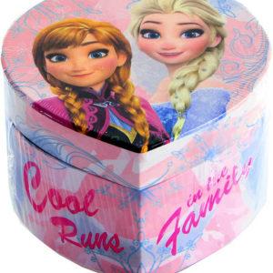 Šperkovnice srdce Frozen (Ledové Království) se zrcátkem