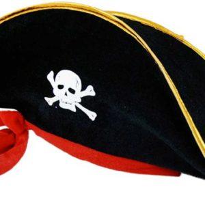 KARNEVAL Klobouk kapitán pirát dospělý KARNEVALOVÝ DOPLNĚK