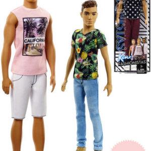MATTEL BRB Barbie panák Ken model trendy letní obleček 4 druhy