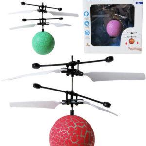 Koule vrtulníková ovládání pohybem ruky na baterie USB LED Světlo 3 barvy