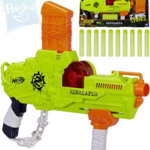 HASBRO NERF Zombie Revreaper set dětská pistole + 30 nábojů plast