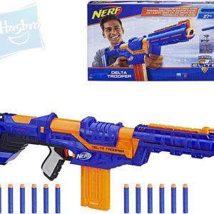HASBRO NERF Elite Delta Trooper set dětská pistole + 12 šipek