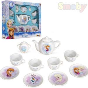 SMOBY Servis dětský porcelánový kávový Frozen (Ledové Království)