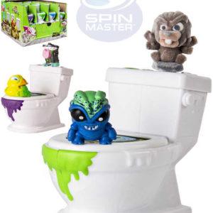 SPIN MASTER Flush Force set záchod + sběratelská figurka 2ks různé druhy
