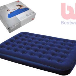 BESTWAY Matrace Queen pro 2 osoby 203x152cm modrá outdoor indoor