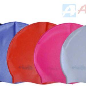 ACRA Čepice dětská koupací silikonová juniorská do vody 5 barev P1127JR