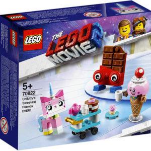 LEGO MOVIE PŘÍBĚH 2: Nejroztomilejší přátelé Unikitty! 70822 STAVEBNICE