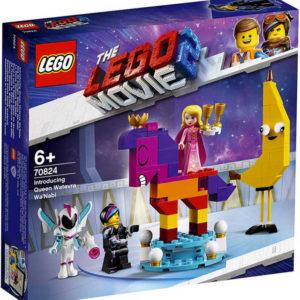 LEGO MOVIE Představujeme královnu Libovůli 70824 STAVEBNICE