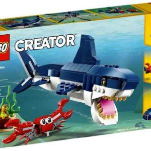 LEGO CREATOR Tvorové z hlubin moří 3v1 31088 STAVEBNICE