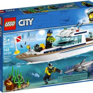 LEGO CITY Potápěčská jachta 60221 STAVEBNICE